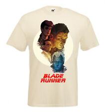 BLADE RUNNER Movie Poster T shirt Black White Natural all sizes Harrison Ford