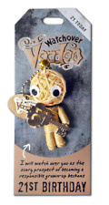 Watchover VooDoo Doll 21st Birthday Key Ring Charm