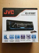 JVC Car Stereo Receiver - CD,Bluetooth,USB,AUX,Mic,App Remote, KD-R790BT