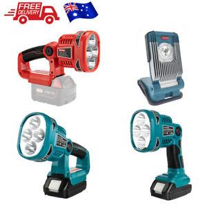 18V Li-ion Cordless LED Flashlight Spotlight Light Replace FOR DM812 /M18SLED AU