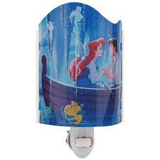 Walt Disney's The Little Mermaid Movie Ariel and Eric Acrylic NightLight, New