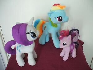 MY LITTLE PONY BUNDLE SOFT TOYS MY LITTLE PONY PLUSH TOYS