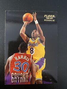 1996-1997 Fleer No. #233 Kobe Bryant Lakers Rookie card NBA Hall Of Fame 2021