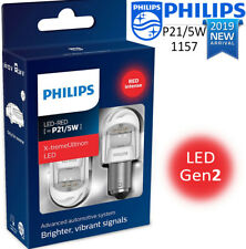 Philips P21/5W LED X-tremeUltinon Red Brake and Tail Signaling Light 2 pin 1157