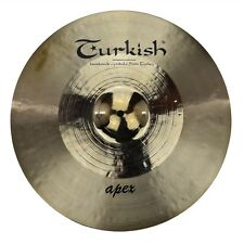 "TURKISH CYMBALS Becken 18"" Crash Apex Rock Series bekken cymbale cymbal 1646g"
