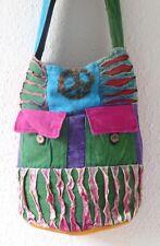 Boho gitano Vintage Chic India Hecho A Mano Algodón Bolso de Hombro-hippy/ethnic Estilo
