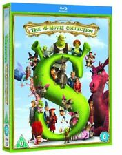 Shrek The Whole Story (1 2 3 4 Forever After Third) Blu-ray Region B New 4 Discs