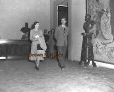 1940-50s Royals Queen Elizabeth Prince Philip Film Photo Camera Negatives #2 (4)