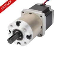 US Ship 15:1 Planetary Gearbox Nema 23 Stepper Motor DIY CNC Mill Lathe Router