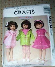 "M 4334 8""&14"" Betsy McCall's Doll Clothes Pattern"