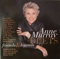 Anne Murray - Duets: Friends and Legends (CD, 2007, EMI Records) Near MINT