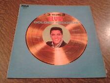 RARE 33 tours elvis presley elvis' golden records volume 3
