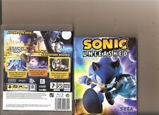 SONIC UNLEASHED PLAYSTATION 3 PS3 PS 3 HEDGEHOG