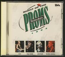 NIGHT OF THE PROMS 94 CD EVA TOTO JOHN MILES BELINDA CARLISLE PAUL YOUNG