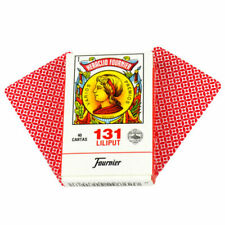 Set 50 Fournier Spanish Playing Cards Tuck Case SeiSes Chinchon Instructions Red