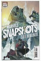 Marvels Snapshots Sub-Mariner #1 2020 Unread Dell'Otto Variant Marvel Comics