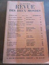La Nouvelle Revue des Deux Mondes, Juin 1975