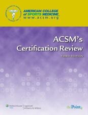 ACSM's Certification Review (2009, Paperback, Revised)