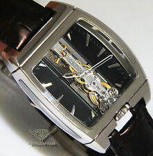 Corum Golden Bridge 18k White Gold Automatic Mens Watch 313.150.59/0001 FN01