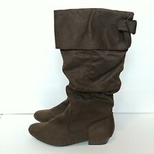 Wanted Women's Size 8 Long Brown Boots Heel