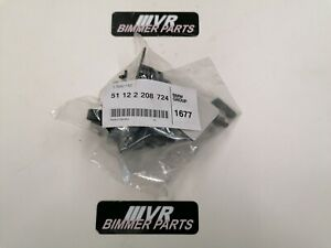 Original BMW 51122208724 - Satz Aufnahme PDC-Sensor hinten PDC 5er