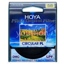 Hoya Pro1 58mm Digital Circular PL Filter CPL for Canon Nikon Sony DSLR Lens