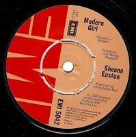 "SHEENA EASTON Modern Girl 7"" Single Vinyl Record 45rpm EMI 1980 EX"