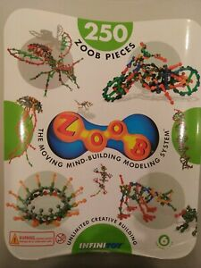 Zoobs - bulk 339 pieces construction toy -  as new condition
