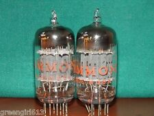 Matched Pair GE Hammond 12AU7 ECC82 Vacuum Tubes 2210/2100 2240/2060