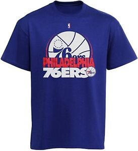 Philadelphia 76ers NBA Youth Boys Gameface Tee Shirt Royal Blue Youth Sizes