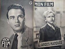 """MON FILM 1949 N° 172 """" LES ANDES MARQUES """" avec IVAN JANDL et MONTGOMERY CLIFT"""