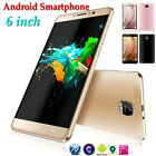 "6"" Unlocked Quad Core Android 5.1 Smartphone IPS GSM GPS 3G Cell Phone AT&T Lot"