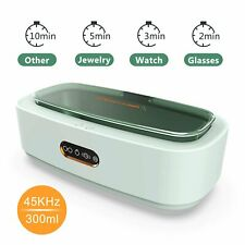 Ultrasonic Cleaner Sonic Jewelry Cleaning Machine 300ml 45khz For Glasses Watch