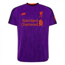 Camiseta de fútbol de clubes ingleses para hombres color morado