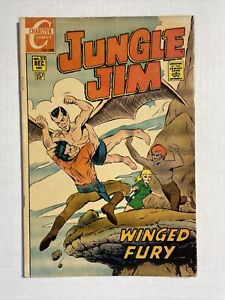 Jungle Jim 27 Fine 1969 Charlton Comic Wood Ditko