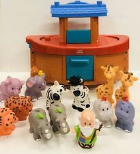 Fisher Price Little People Noah's Ark Playset with 13 Figures / Animals