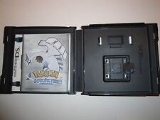 EMPTY CASE for game: Pokemon Soulsilver Nintendo DS. NO Game included=Case ONLY