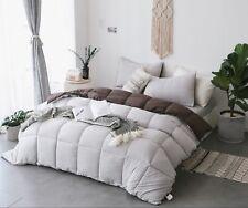 Kasentex Quilted Ultra Soft Comforter Set Reversible.Duvet Insert Hypoallergenic