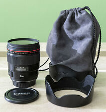 Canon 35mm F1.4 L series USM with Hoya Pro1 digital filter and hood
