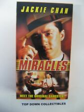 Jackie Chan, Miracles,  Anita Mui    VHS Movie