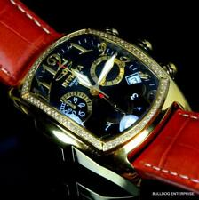 Invicta Dragon Lupah .64ctw Diamond Swiss Limited Edition Gold Plated Watch New