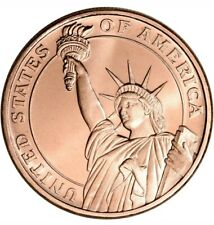100 Golden State Mint 1 oz Copper Round Statue of Liberty .999 Fine Tube of 100