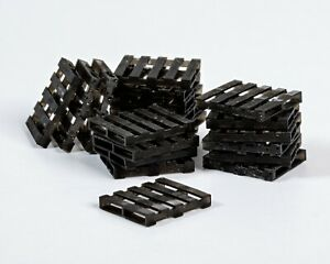 OO/1:76/4mm Resin Euro Style Pallets (x20)