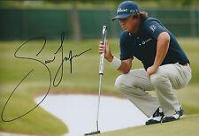 Jason DUFNER SIGNED 12x8 Photo AFTAL Autograph COA Crown Plaza Invitational Golf