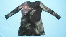 sz XXL LIOR panelled MOHAIR blend top with stretch