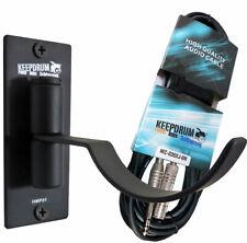Keepdrum HMP01 Soporte de Pared Auricular + 3M Cable de Extensión 6,3mm