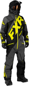 FXR MEN'S CX LITE Uninsulated MONOSUIT - SNOWMOBILE - Size XL - NEW