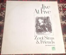 ZOOT SIMS & FRIENDS jive at five 1969 UK POLYDOR SPECIAL STEREO VINYL LP RECORD