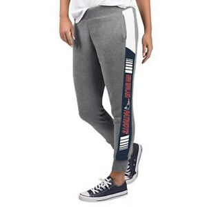 NFL New England Patriots Officially Licensed Women's Fleece Tailgate Pants G-III