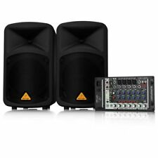 Behringer EUROPORT EPS500MP3 mint 500W 8-Channel Portable PA System